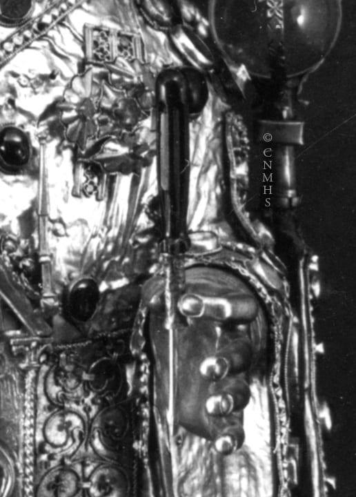 1b.Majesté de Sainte Foi, detail