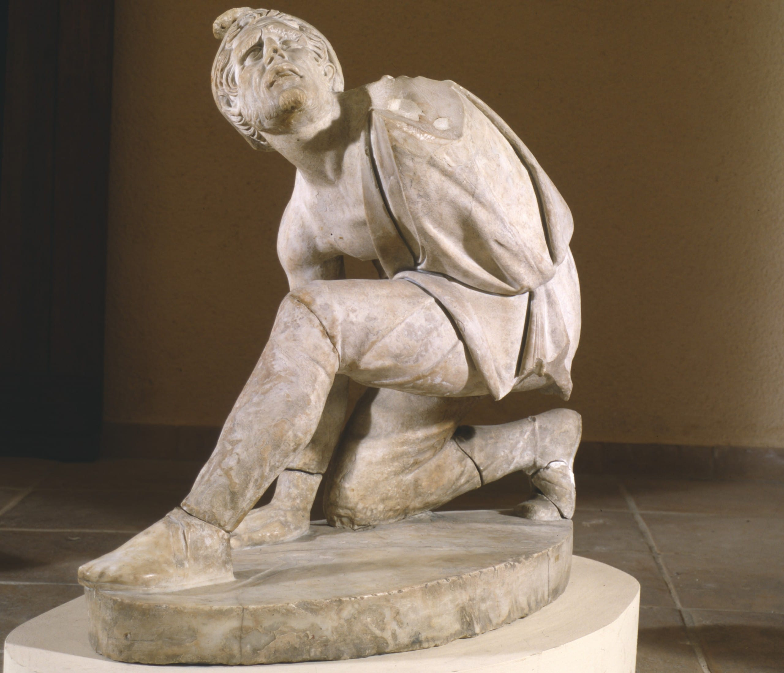 Figure 3. Defeated Persian, Roman copy of a Greek sculpture of ca. 200 BCE (Musée Granet, Ville d'Aix-en-Provence; image supplied by the museum).