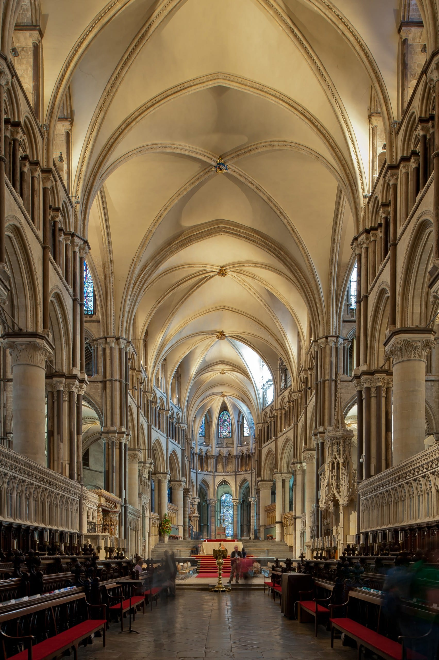 Fig. 3: East end of Canterbury Cathedral, England, 1175–84 (photo by Stephen Murray; image courtesy of the Media Center for Art History, Department of Art History & Archaeology, Columbia University).